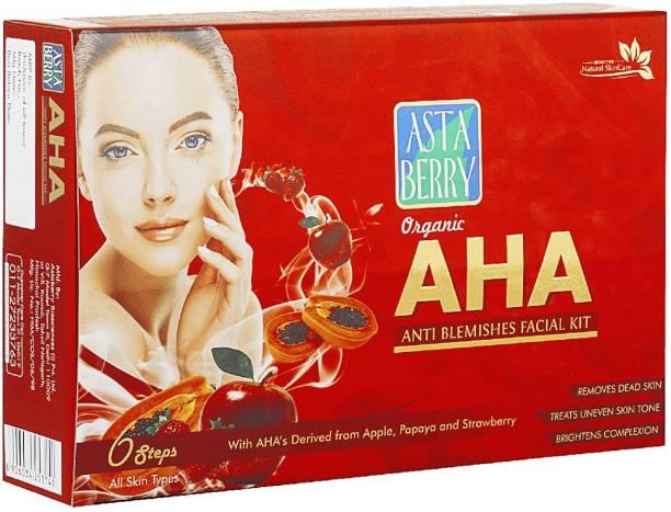 ASTABERRY AHA Facial Kit 6 Steps 570ml