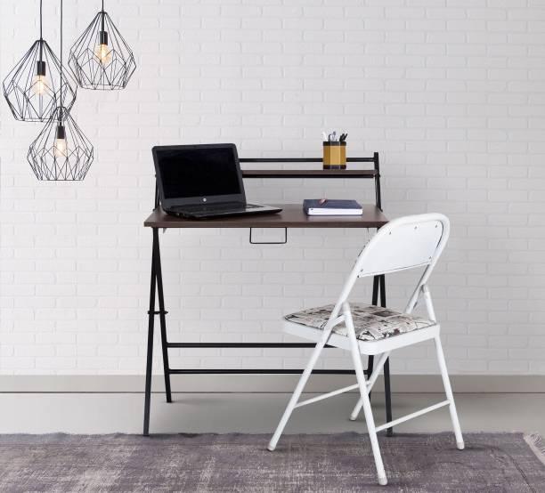 Metallika By FurnitureKraft Engineered Wood Study Table