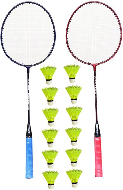 FITNACE PLAYER CHOICE WITH 12 PIECE SHUTTLE Badminton Kit