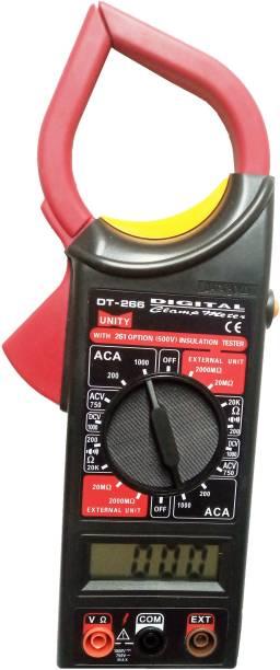 Qualigen Digital Clamp Meter DT-266 Multimeter Digital Multimeter