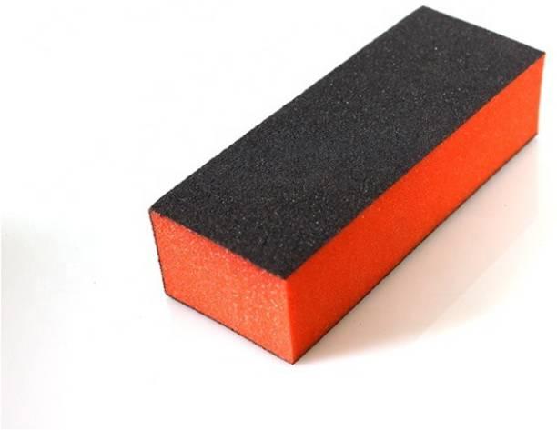virkart Nail Art Shiner Buffer Block Orange Buffing Sanding File