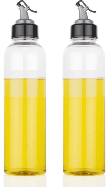 4 SACRED 1000 ml Cooking Oil Dispenser Set