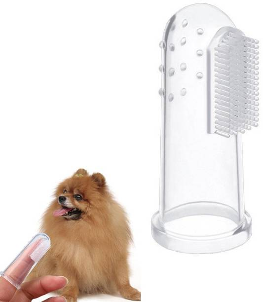 Jariso Oral Care Pet Finger Toothbrush for Dog and Cat Pet Toothbrush