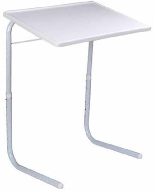arovemic Adjustable Laptop Study Table Plastic Portable Laptop Table