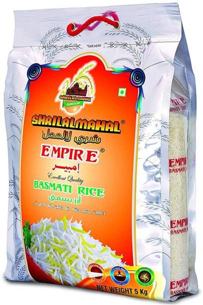 SHRI LAL MAHAL Empire Basmati Rice Basmati Rice (Long Grain, Steam)