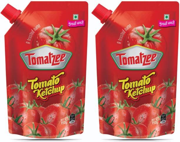 Gulabi nagari Tomato Ketchup 950 X 2 = 1900 G Ketchup