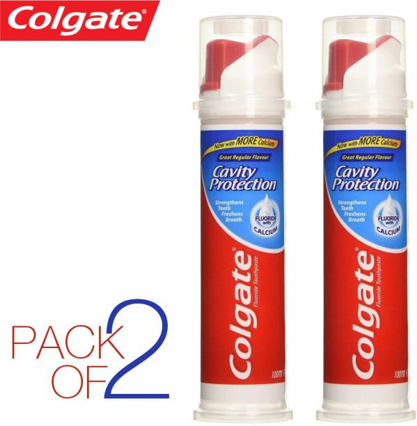Colgate (PACK OF 2 ) CAVITY PROTECTION , STRENGTHENS TEETH , IMPORTED Toothpaste