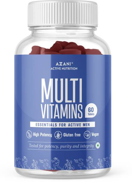 Azani Active Nutrition Multivitamins supplement for Men with a blend of a Multivitamins,Multi minerals