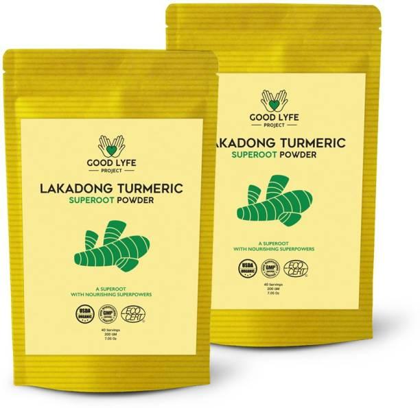 Good Lyfe Project 100% Organic Lakadong Turmeric Powder, Haldi Powder Immunity Booster