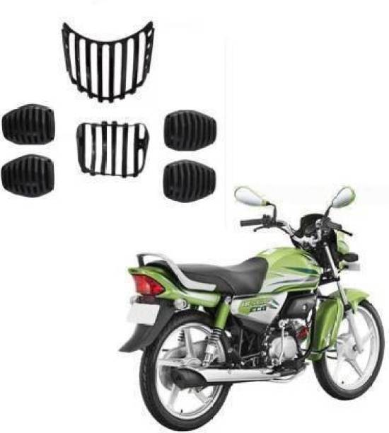 AUTOSCAPES HF Deluxe Grill Set of -6 Bike Headlight Grill
