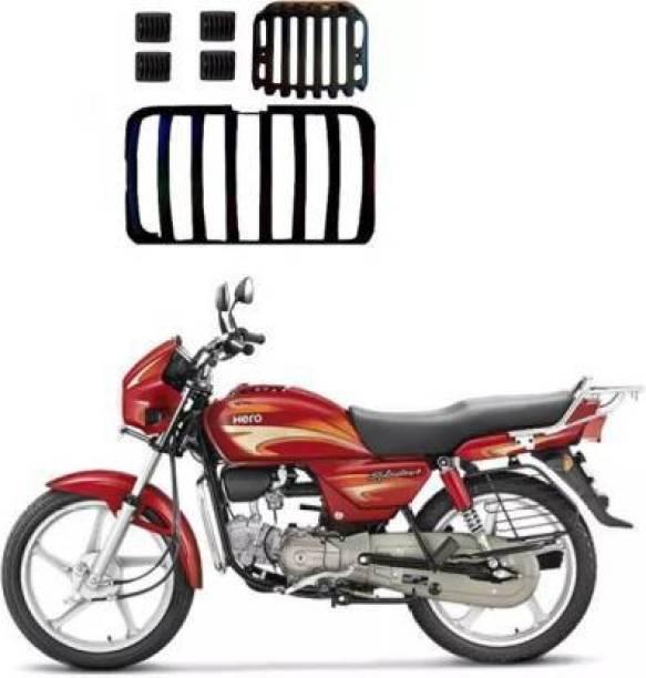 AUTOSCAPES Plastic Black H Splendor Full Cover_03 Bike Headlight Grill
