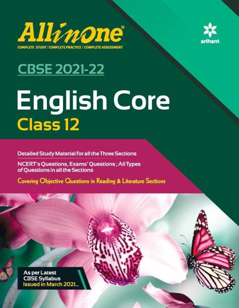CBSE All In One English Core Class 12 for 2022 Exam (Updated edition for Term 1 and 2)