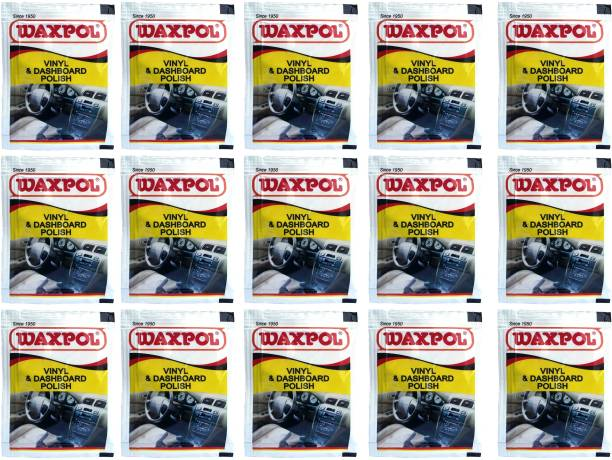 waxpol Liquid Car Polish for Dashboard, Leather, Exterior