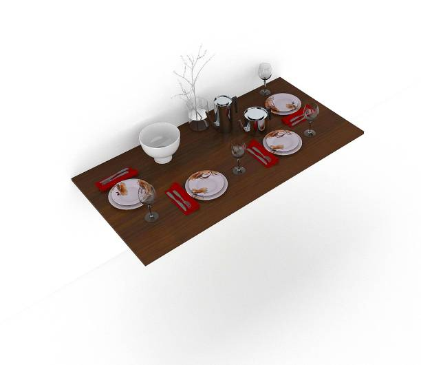 Strata furniture Engineered Wood 4 Seater Dining Table