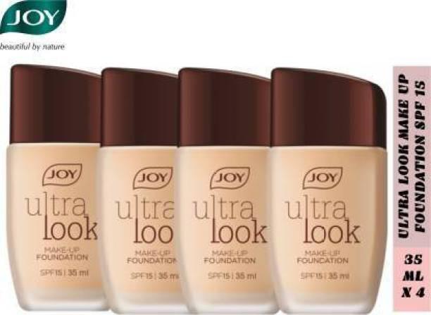 Joy Ultra Look Make Up Foundation 35 ml x 4 (Pack Of 4)  Foundation