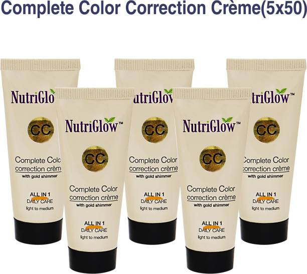 NutriGlow CC-Cream (Pack of 5) Foundation