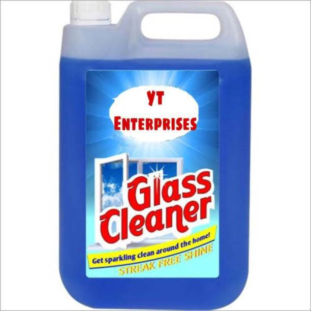 JUST BUY YT GLASS AND SURFACE CLEANER, (5LTR) JUMBO SAVER PACK
