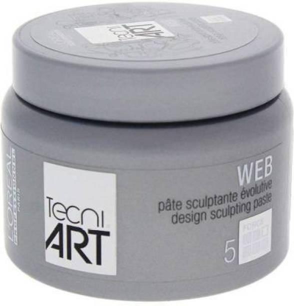 enzo LOREAL PROFESSIONAL TECHNI ART WEB HAIR WAX Hair Wax (150 ml) Hair Gel