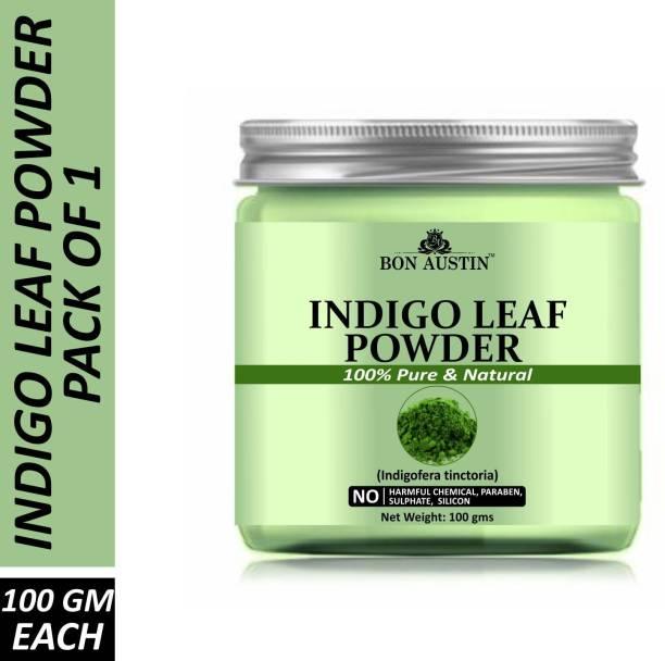 Bon Austin 100% Pure & Natural Indigo Leaf Powder(100 Gms)