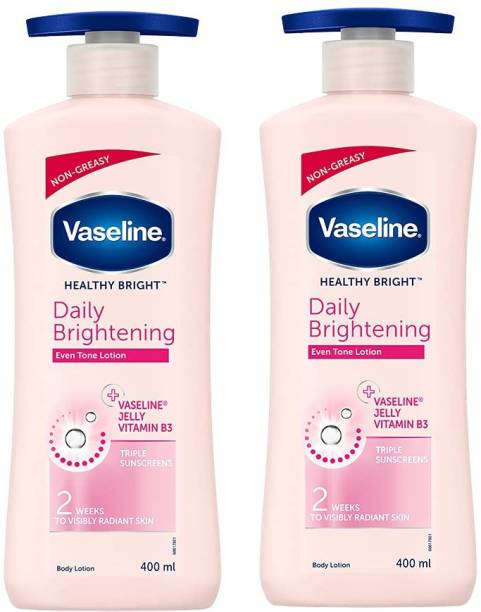 Vaseline Daily Brightening Even tone Each 400ml Pack of 2