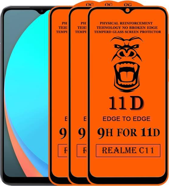 Xester Edge To Edge Tempered Glass for Realme C11