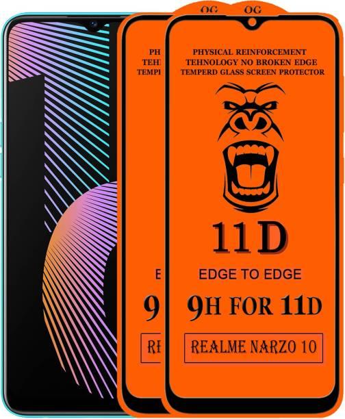 Xester Edge To Edge Tempered Glass for Realme Narzo 10