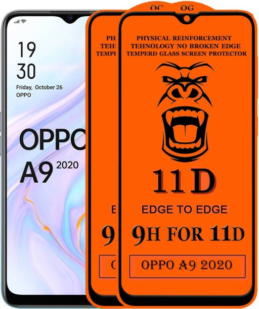 Xester Edge To Edge Tempered Glass for Oppo A9 2020