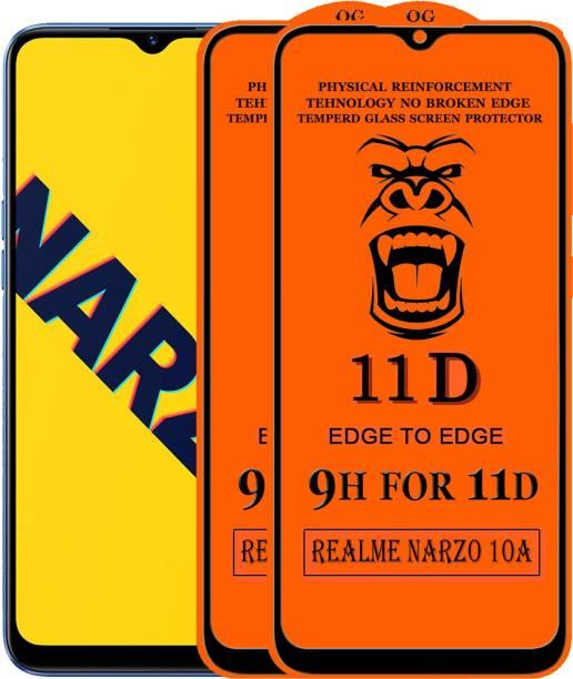 Xester Edge To Edge Tempered Glass for Realme Narzo 10A