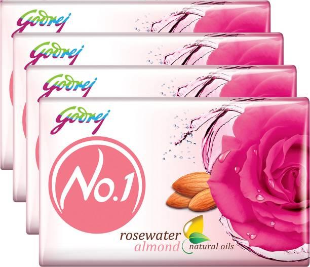 Godrej No.1 Rosewater Almond