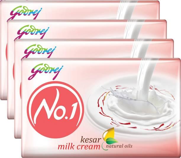 Godrej No.1 Kesar Milk Cream