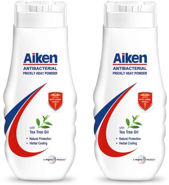 Aiken Antibacterial Prickly Heat  Powder with Tea Tree Oil