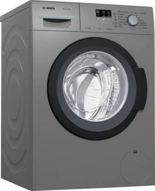 BOSCH 7 kg Fully Automatic Front Load with In-built Heater Grey