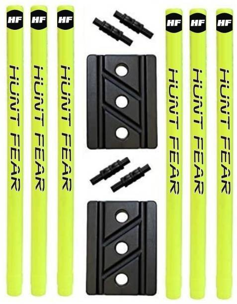 HF HUNT FEAR PLAYER HARD PLASTIC 32 '' CRICKET WICKET , CRICKET STUMPS SET OF 2