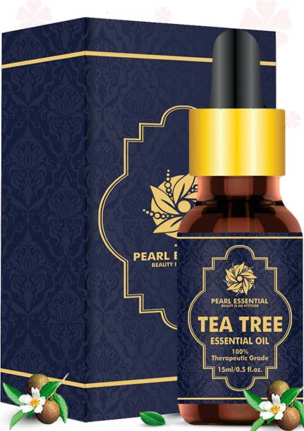 PEARL ESSENTIAL Tea Tree Essential Oil help to prevent and reduce acne scars