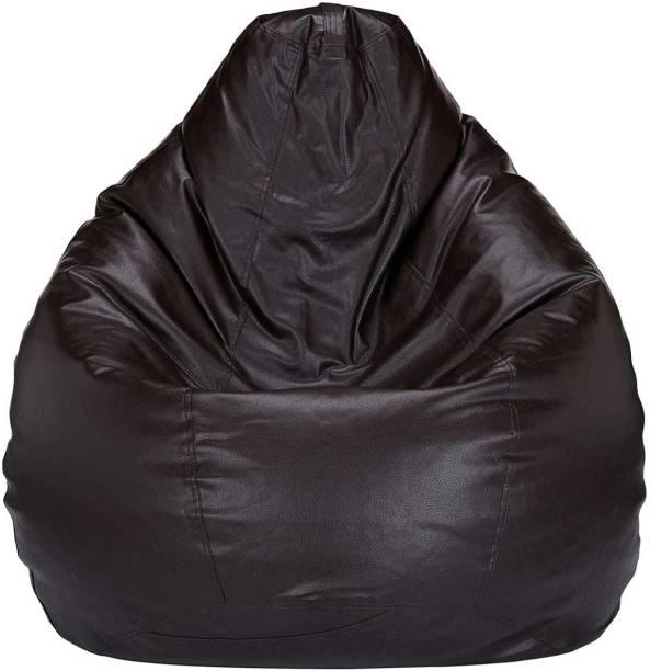 Tozy XL Tear Drop Bean Bag Cover  (Without Beans)