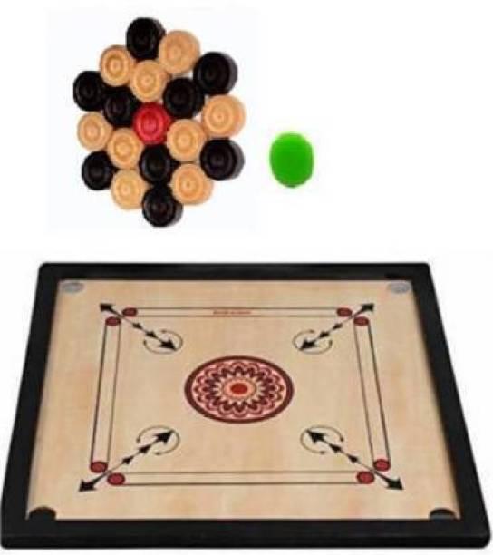 Raviour Lifestyle Medium Carrom board 26 Inch Carrom Board Board Game 60 cm Carrom Board
