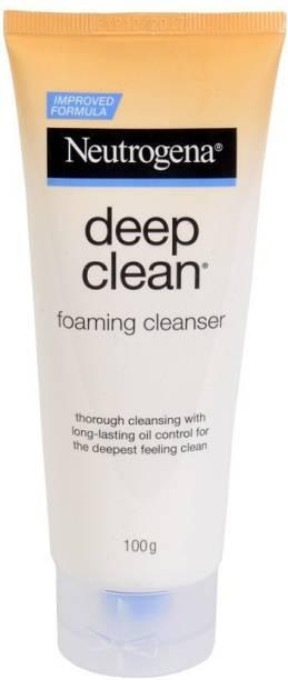 NEUTROGENA Deep Clean Foaming Cleanser  Face Wash