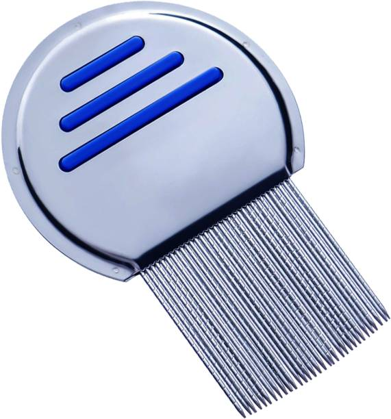 Vreeny Stainless Steel Lice Treatment Comb for Head Lice Remover Lice Egg Removal Comb