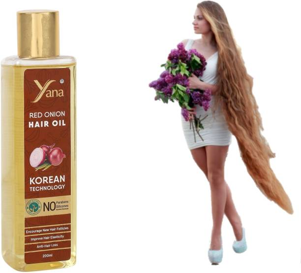 Yana Red Onion Hair Oil Black Seed khadi with Korean TECHNOLOGY || Almond Aloe vera Vitamin E Bhringraj Amla Park Herbals 100% Pure And Care For booster Men Onion Black Seed Hair Oil For Hair Growth Hair Oil Daniel The Natural with Onion Ayurvedic Herbs for ReGrowth Anti-Hair Fall Dandruff NO Silicones Brahmi Science for fast growth women Hair Oil