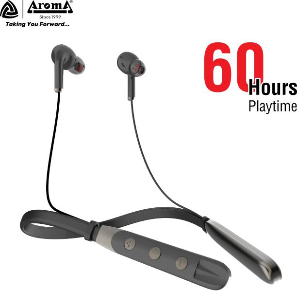 Aroma NB127C 60 Hours Playtime And Quick Charging Bluetooth Headset