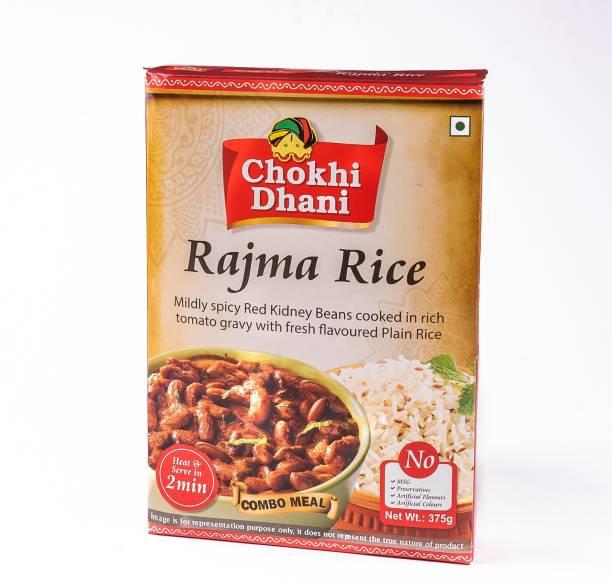 Chokhi Dhani Foods Rajma Rice Combo 385 gm 385 g