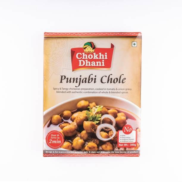 Chokhi Dhani Foods Punjabi Chole 300 gm 300 g