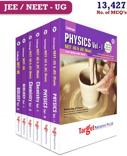 NEET UG Challenger PCB Books Combo For 2021 Medical Entrance Exam | Chapterwise MCQs With Solutions | Question Papers With Answer Key | Model Papers For Practice | Physics, Chemistry And Biology | 6 Books (Paperback, Content Team At Target Publications)