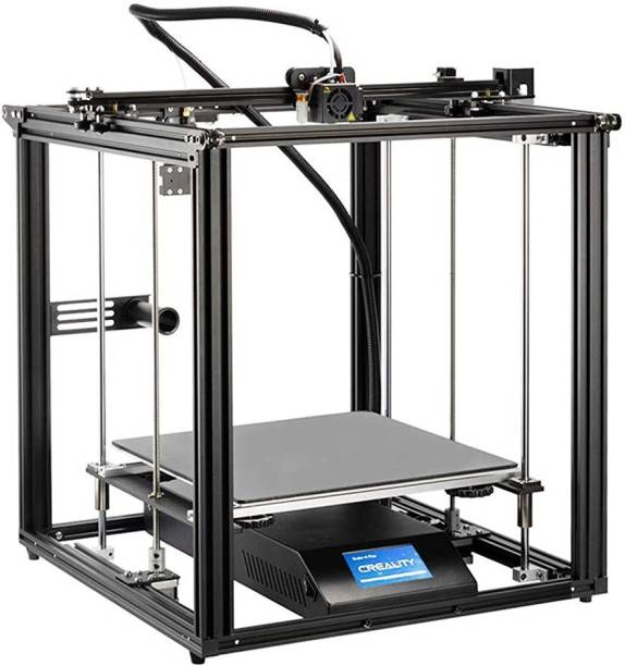 Creality Ender 5 Plus 3D Printer | BL Touch Tempered Glass Plate | Touch Color Screen Dual Z-Axis Large Build Volume 350 x 350 x 400mm 3D Printer