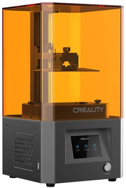 Creality LD-002R LCD Resin 3D Printer | Air Filtering System | 2K Micron-Level Accuracy | 3.5'' Smart Touch Color Screen | UV Light Curing System for High Precision Printing 3D Printer