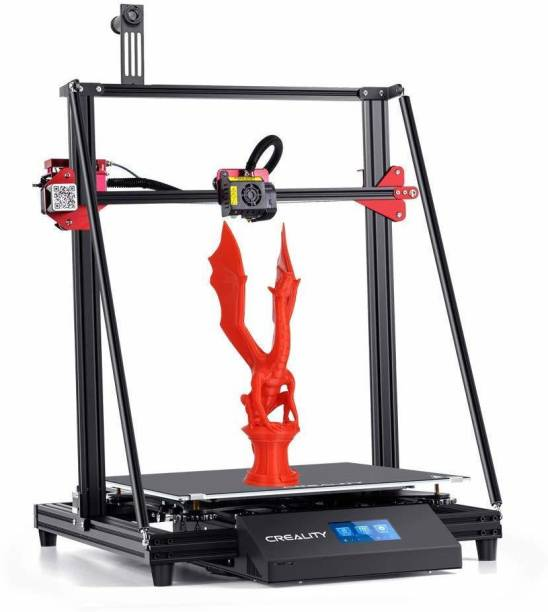 Creality CR 10 MAX 3D Printer | Stability Triangle Frame | Auto-Leveling | Resume Printing | Bondtech Extruder Dual Gears | Large Build Volume 450 X 450 X 470 mm 3D Printer