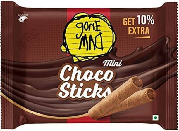 Gone Mad Choco Sticks Tray Pack 40.7g (Pack of 10)*3 Wafers