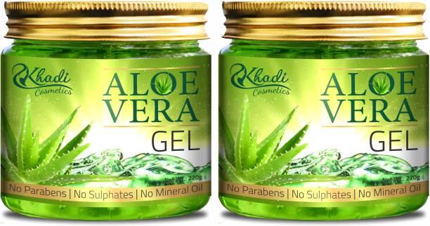 Khadi Cosmetics 100% Pure Aloe Vera Gel