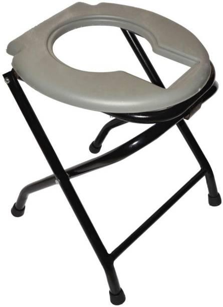 DARLIE Western Toilet Seat Anti Skid Stool (grey) Commode Shower Chair