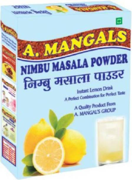 A.Mangals Nimbu Masala Powder Instant Lemon Drink powder 200g Hydration Drink